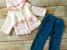 Картдиган и брюки 80-86