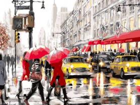 Картины по номерам GX 3688 Такси