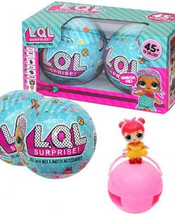 Кукла-сюрприз в шаре (набор из двух шариков)