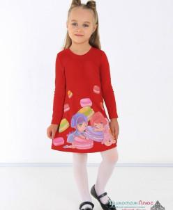 Платье детское Эля (интерлок)