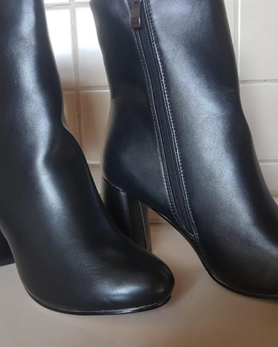 Ботинки женские осень  на байке