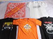 Футболки с рок-фестивалей разных лет S-L (46  -50)