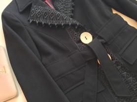 дизайнерское пальто.