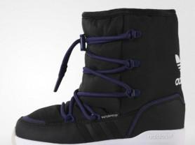 adidas сапоги 31, теплые не промокают цвет универс