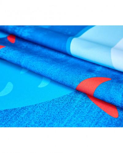 66994 Шторы (СИРЕНЬ)голубой/синий
