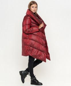 Красная трендовая куртка женская модель 816