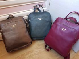 Новые большие кожаные рюкзаки Италия