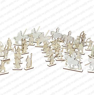 Чудо-крепость + набор рыцарей 36 шт