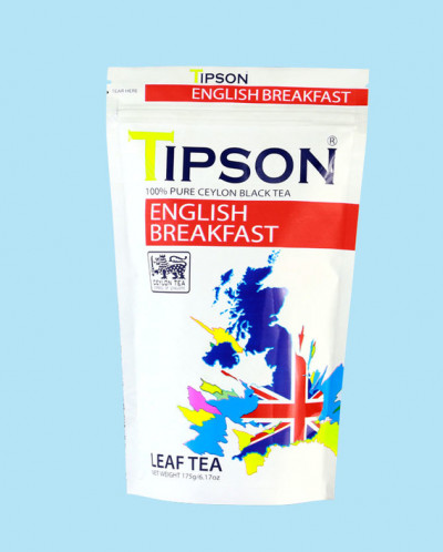 Чай Tipson Английский завтрак/English breakfast 175г., ZIP