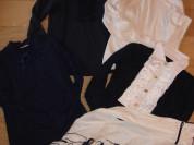 Школьные блузки и обманки на рост 146-152