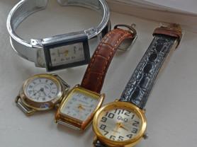 часы женские наручные.4 пары