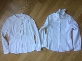 Блузки школьные,р.134-140.
