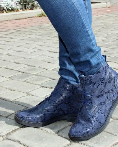Стильные кожаные ботинки из нубука. Новинка!