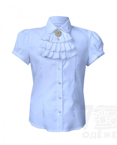 Блузка для девочки рукав короткий