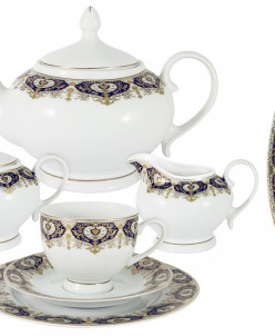 Чайный сервиз 23 предмета на 6 персон Гамбург