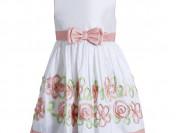 Платье с оранжевым бантом (новое)