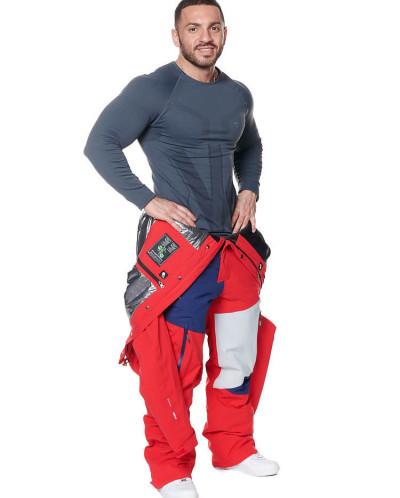 Комбинезон мужской Snow Headquarter A-8826, Красный