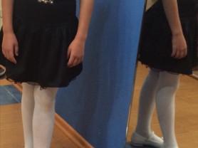 юбка и блузка colabear 130 см б/у!!!