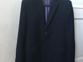 Пиджак темно-синего цвета на рост 152-158