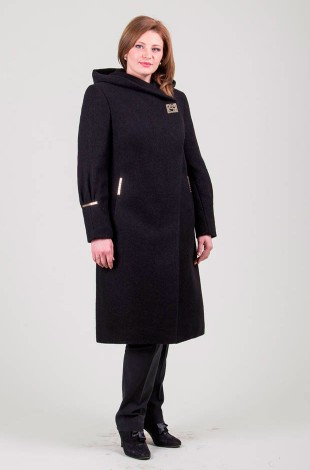 Пальто (черный) Sergio Cotti