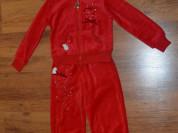 Красный Спортивный костюм colabear