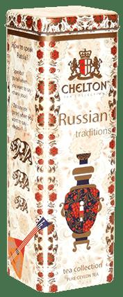 """Чай Челтон """"Русские традиции"""" 80гр. ж/б"""