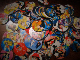 Фишки, наклейки Сейлормун / Sailormoon