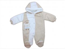 Комбинезон вязаный для новорожденного/Турция