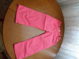 Малиново-розовые брюки Max&Mia 8-9 лет
