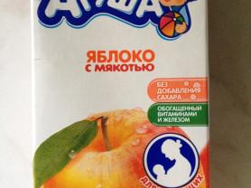 сок Агуша для кормящих (яблоко с мякотью).