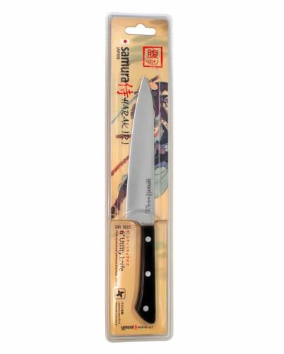 "Нож кухонный ""Samura HARAKIRI"" универсальный 150 мм, сталь"