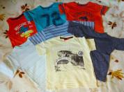 Пакет футболок и маек 7шт) р.104
