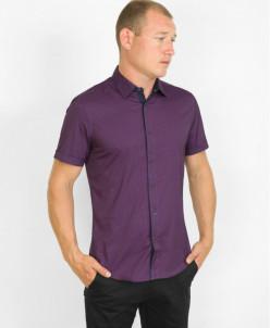 Рубашка молодежная Amato универсальная сиреневая модель