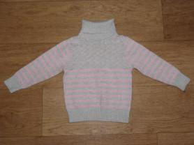 Водолазка / свитер 12-24 мес.