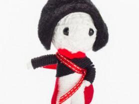 Наполеон - кукла, талисман, ручная работа