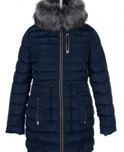 05-0578 Куртка зимняя (Синтепух 400) Плащевка Темно-синий