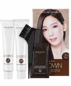 NR Hair & Nature Hair Крем-краска для волос 3N Dark Brown