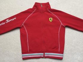 Толстовка Ferrari на 8-9 лет