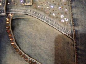 джинсы-бой JUSTOR Tg 40 Италия.