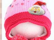 Новая шерстяная шапка р. 2 года новый год