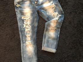джинсы бойфренд новые