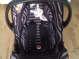 Автокресло Nania «BeOne SP Animals» 0-13 кг Zebra