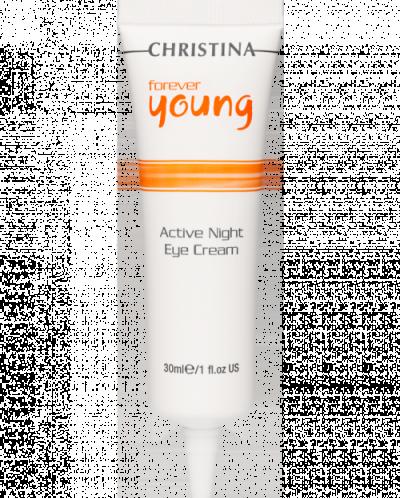 Активный ночной крем для кожи вокруг глаз, 30 мл