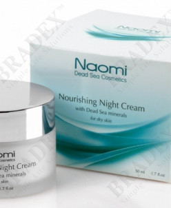 Крем для лица питательный с минералами Мертвого моря «NAOMI»