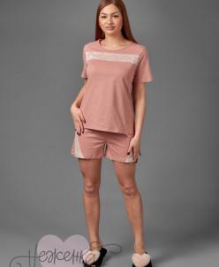 Женская пижама ЖП 041 (чайная роза)