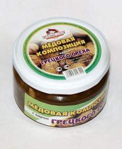 Мёд с ядром Грецкого ореха