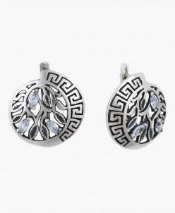 Серьги из серебра Греция Юмила