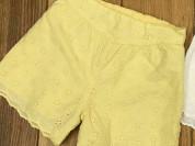 Б/У Шорты Mothercare желтые на 2 года