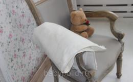 Велюровый плед-одеяло утепленный