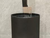 Подставка для ножей Tinita черная б/у